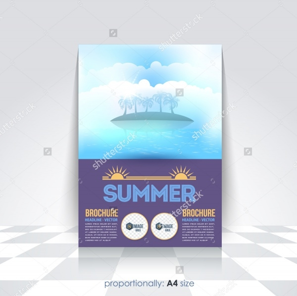 Design Summer Camp Brochure