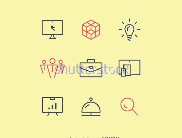 Desktop Minimal Icons