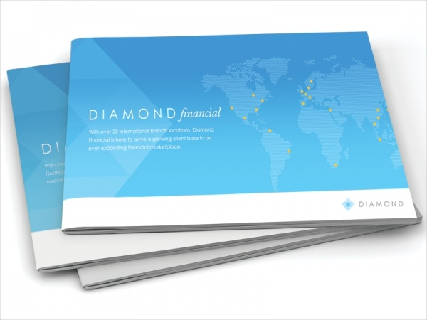 Diamond Financial Brochure Design