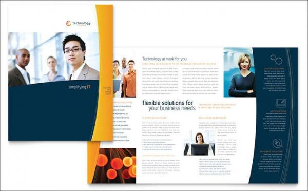 digital free brochure template