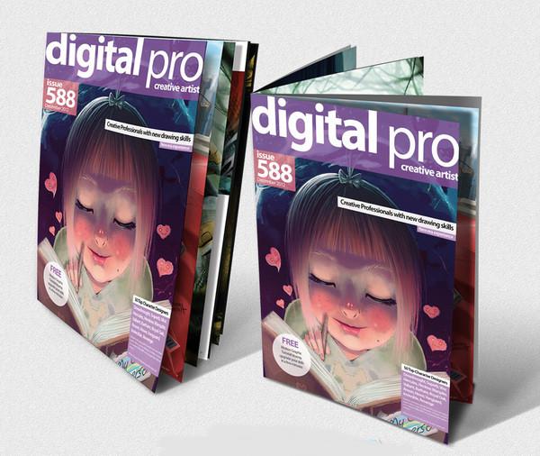digital pro graphic design brochure