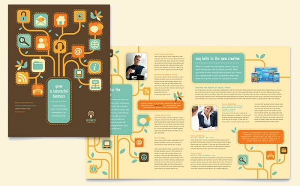 Digital Services Brochure Template