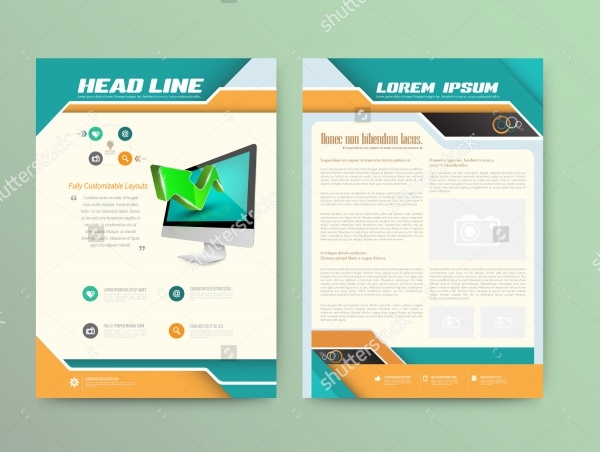 Digital Signage InDesign Brochure