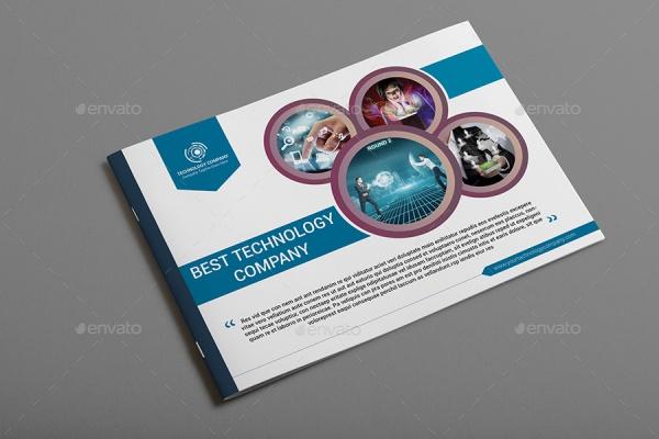 digital technology company brochure