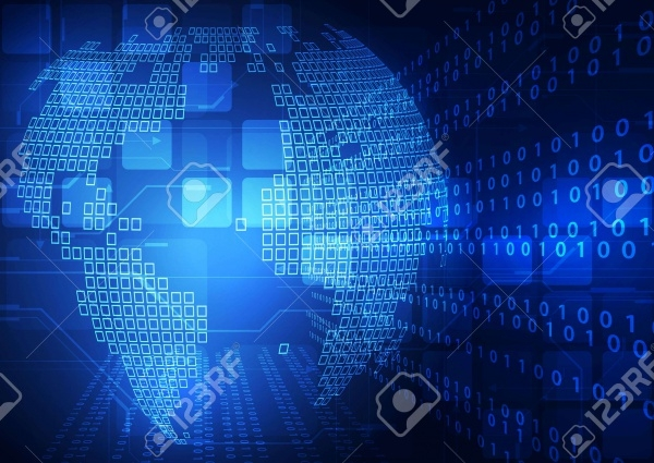 Digital Technology Computer Vector