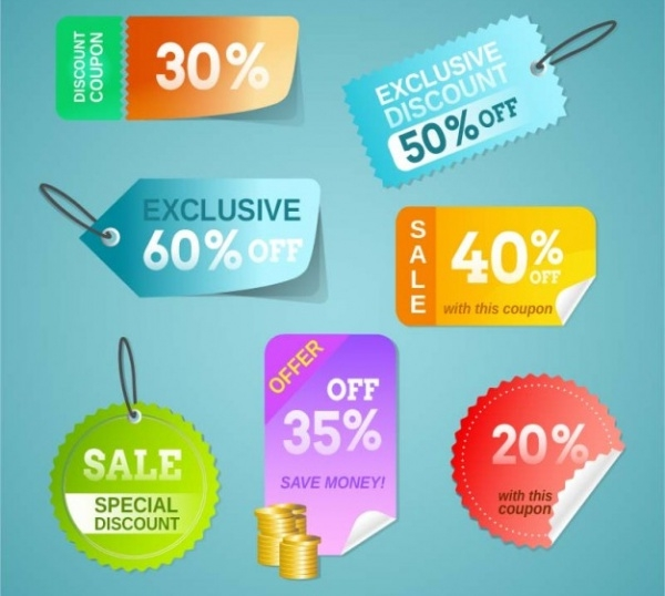 Discount Price Tags Design Free