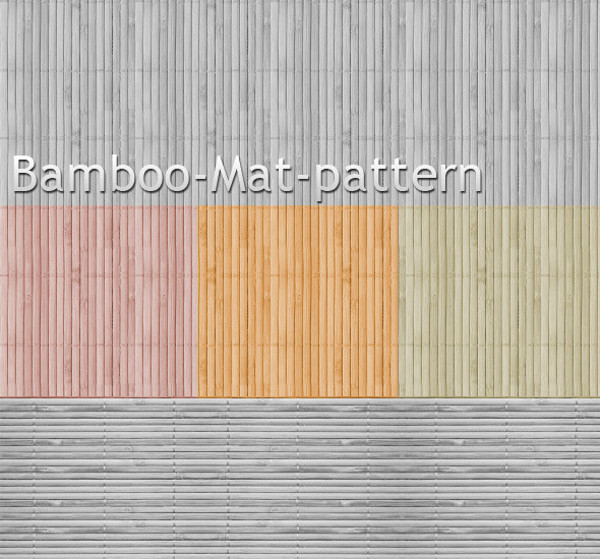 Download Bamboo Mat Pattern