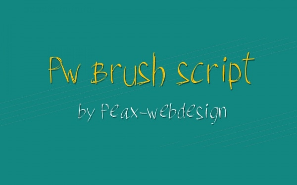 Download Brush Script Font
