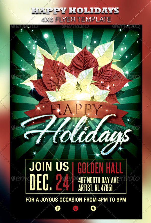 Download Happy Holidays Flyer