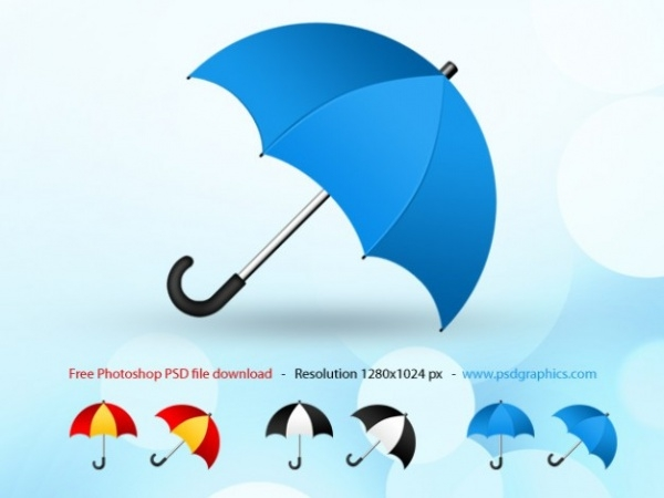 Download PSD Umbrella Mockup