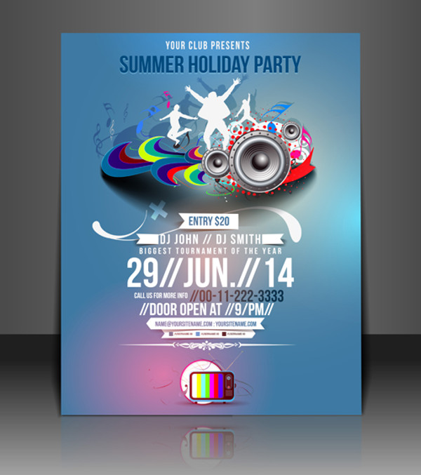 Download Summer Party Flyer Template
