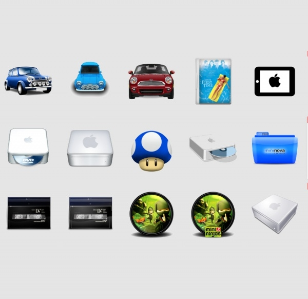 Download Various Mini Icons