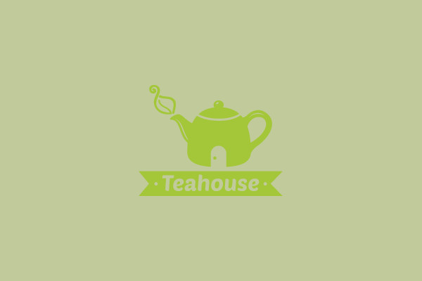 Editable Logo of Tea