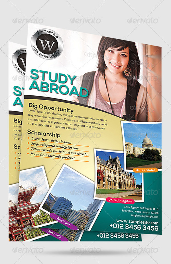 Education University Flyer Design