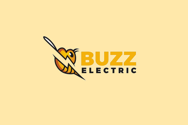 Electric Buzz Lightning Logo