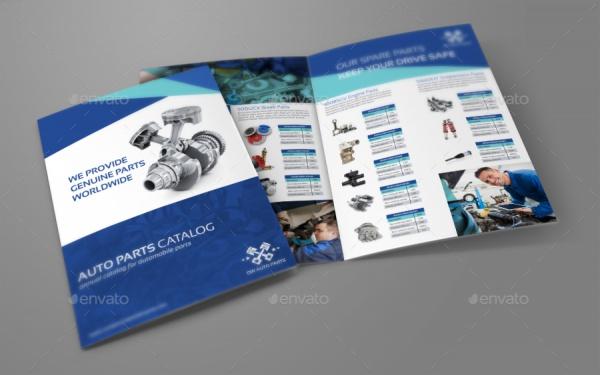 Electric Car Corporate Brochure