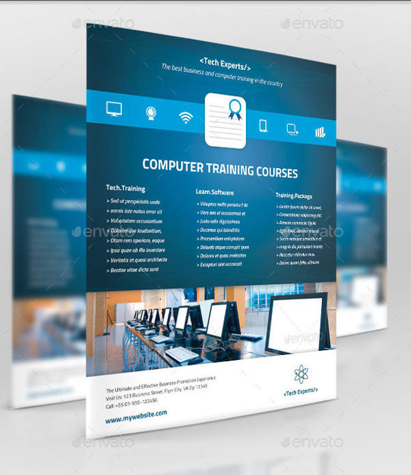 Elegant Computer Business Flyer