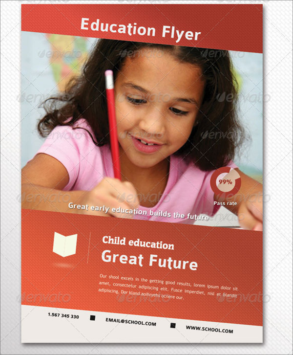 Elegant Education Flyer Design