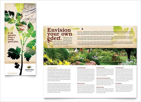 Elegant Landscape Design Brochure