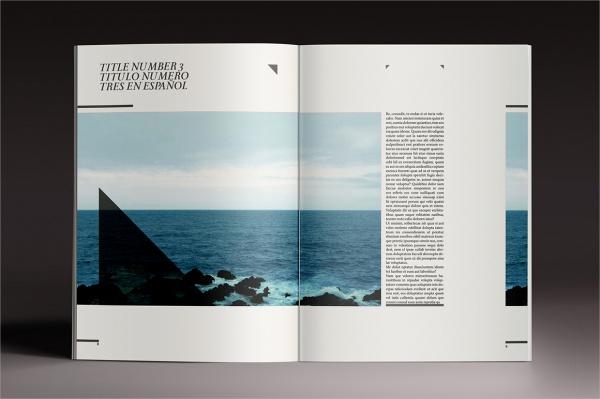 Elegant Professional Magazine Template