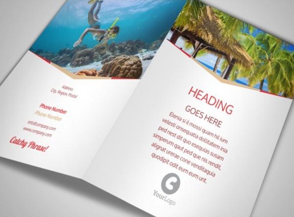 Elegant Travel Agency Brochure