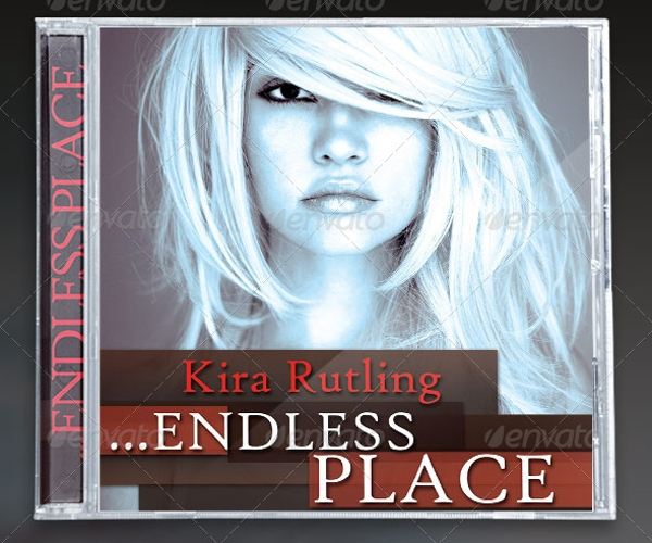 Endless Place CD Artwork Package Template