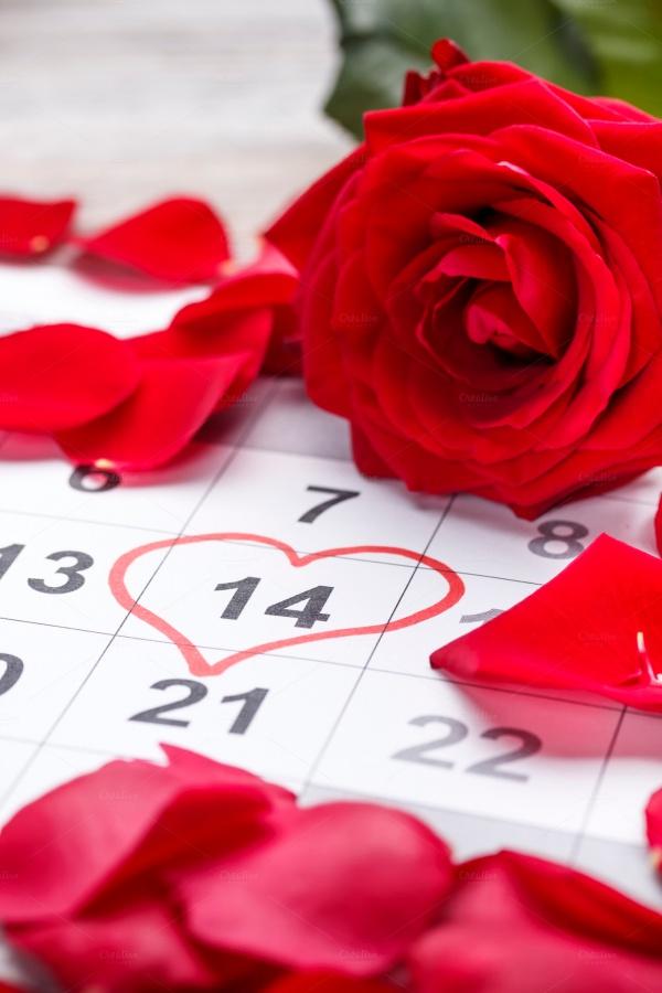 Event Calendar Anniversary Design