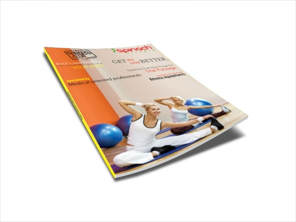 Exercise Fitness Advertisement Magazine