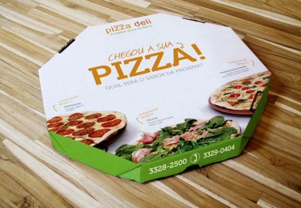 Fabulous Pizza Packaging Design