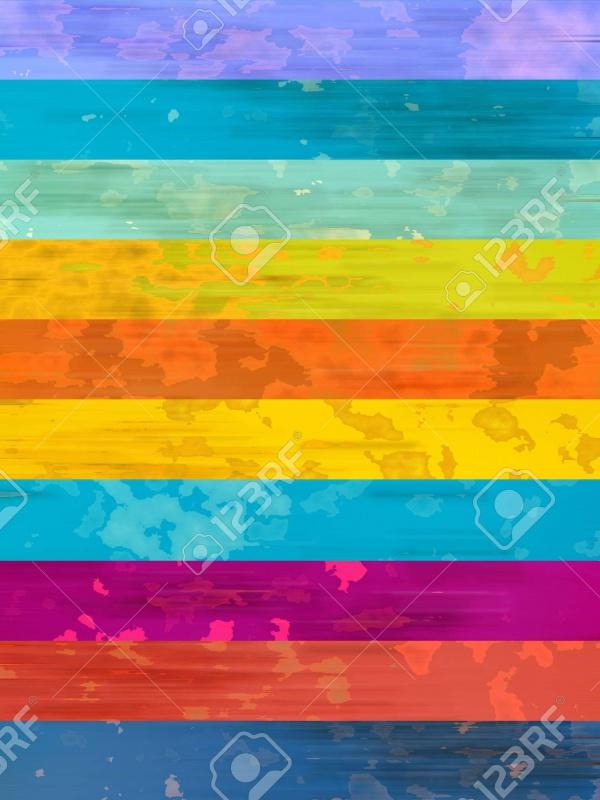 Fabulous Stripey Rainbow Texture