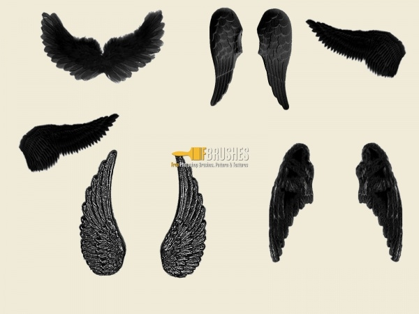 Falling Wings Brushes for Gimp