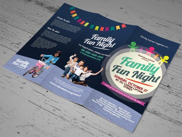 Family Fun Summer Camp Brochure