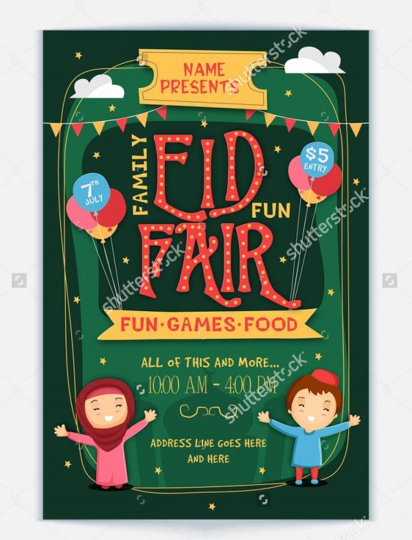Family Game Night Flyer Template 52dBLiRZ