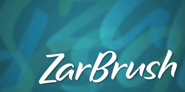 Fashionable Zar Brush Font