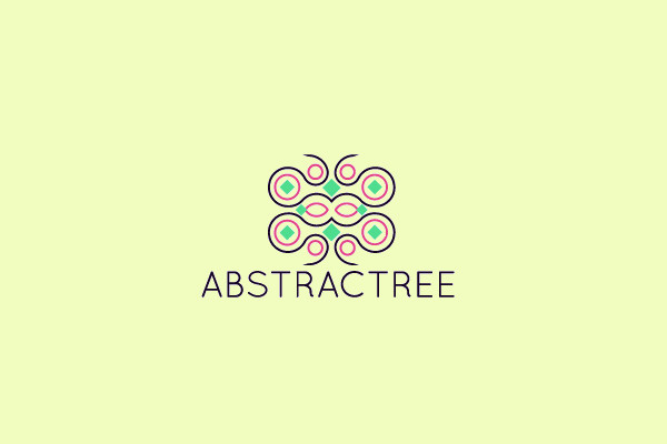 Fighting Abstract Symmetry Logo
