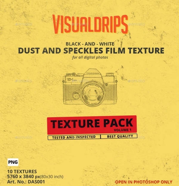 Film Dust Texture Design