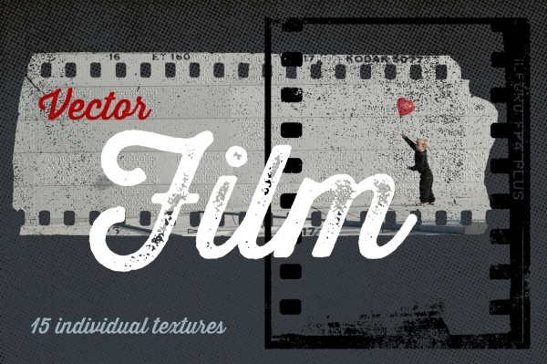 Film Reel Vector Texture