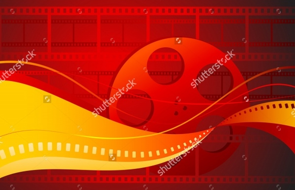 Film Strip Vector Texture
