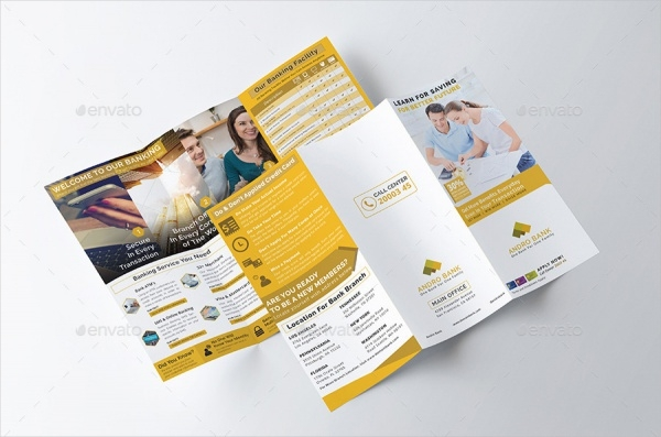 Financial Consulting Bank Brochure