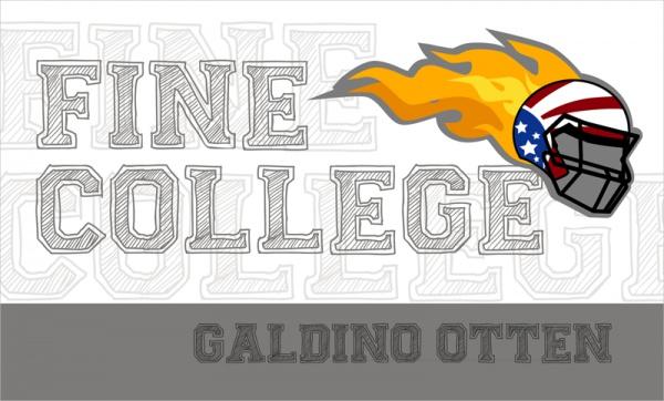 Fine College Varsity Font