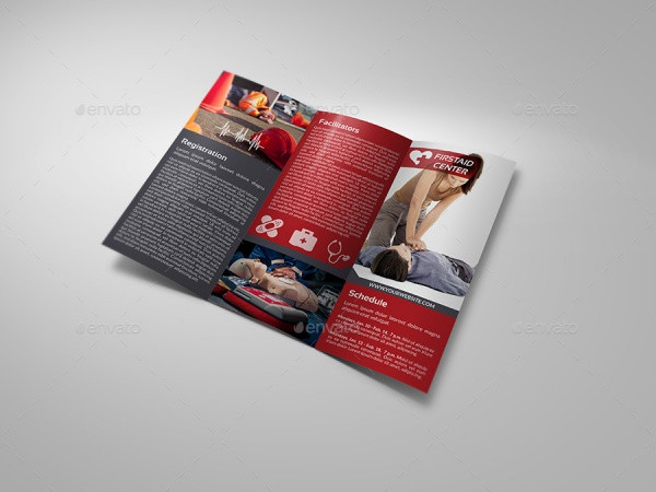 First Aid Training Tri-Fold Brochure