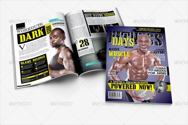 Fitness Day A4 Magazine