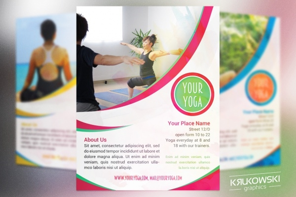 Yoga Flyer Templates