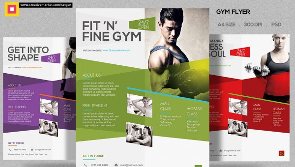 39 superior fitness flyer templates in psd vector eps jpg download