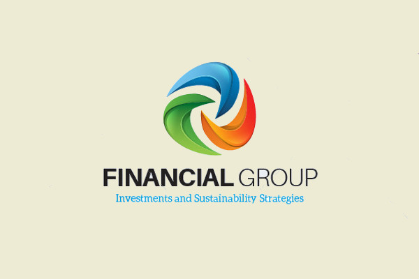 Flat Design Financial Logo