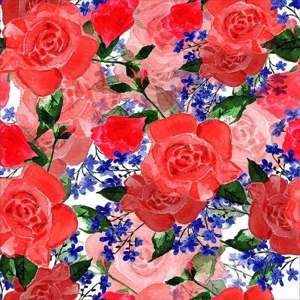 Flower Graphic Illustration Design