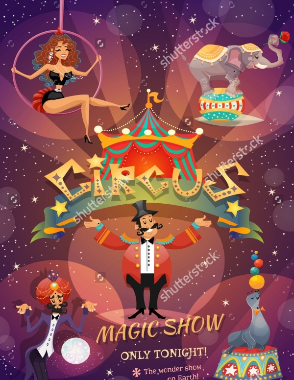 Flyer Design For Circus