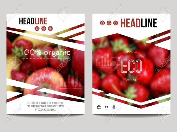 Food And Drink Magazine Design