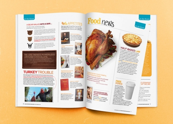Food Network Magazine Template