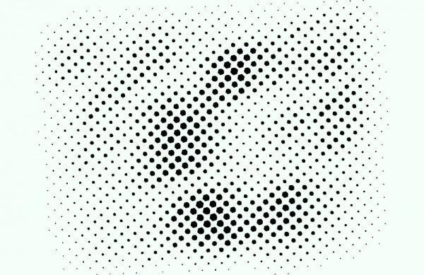Free Halftone Vector Design